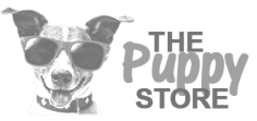 the puppy store logo